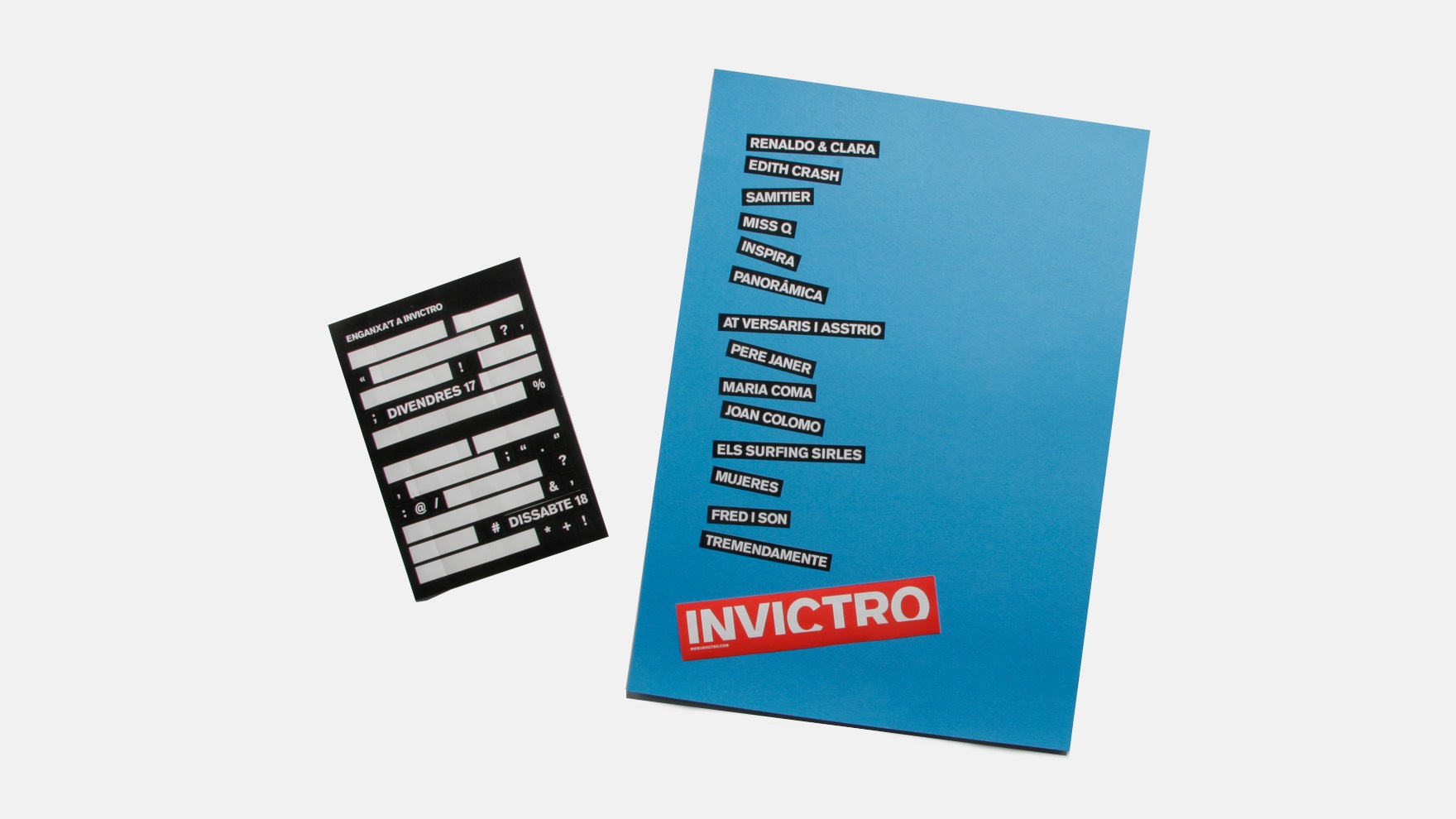 INVICTRO / GRAPHIC DESIGN
