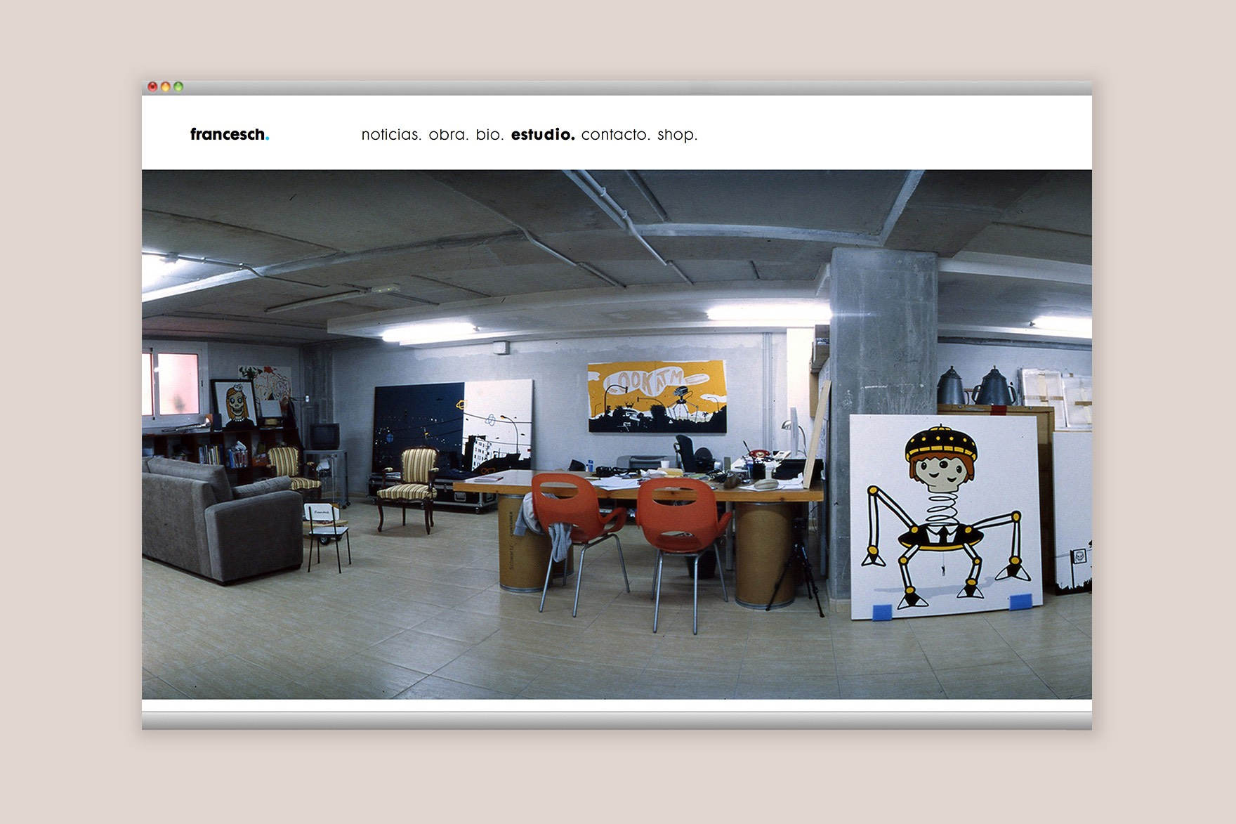 HECTOR FRANCESCH / WEB DESIGN