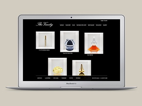 THE VANITY / WEB DESIGN