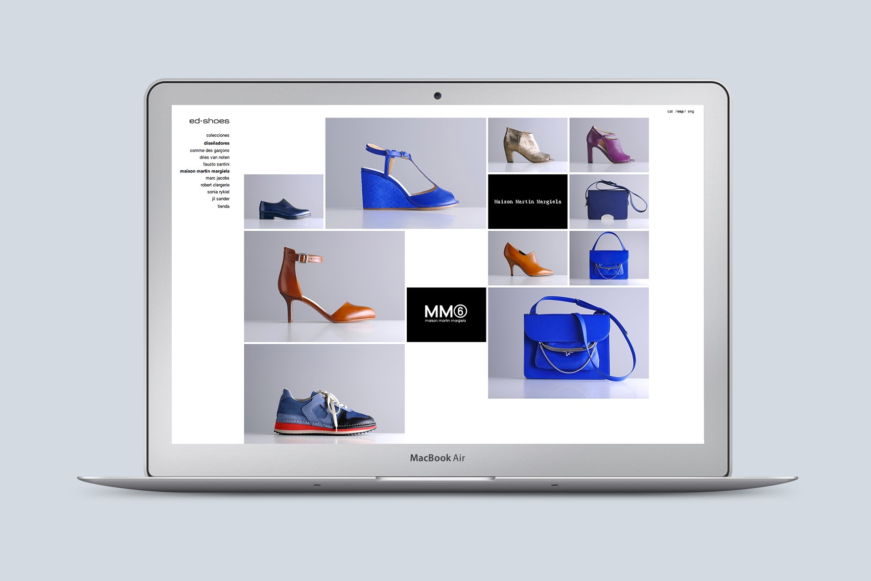 ED SHOES / DISEÑO WEB
