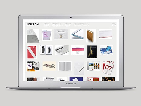 LEICROM / WEB DESIGN