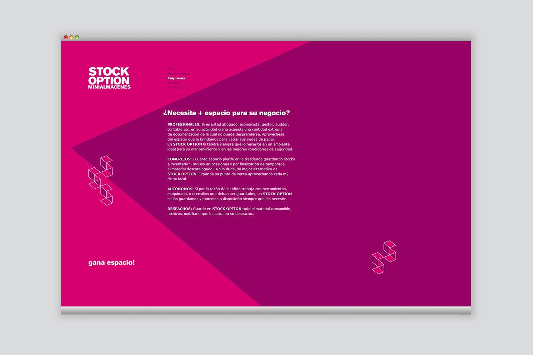 STOCK OPTION / WEB DESIGN