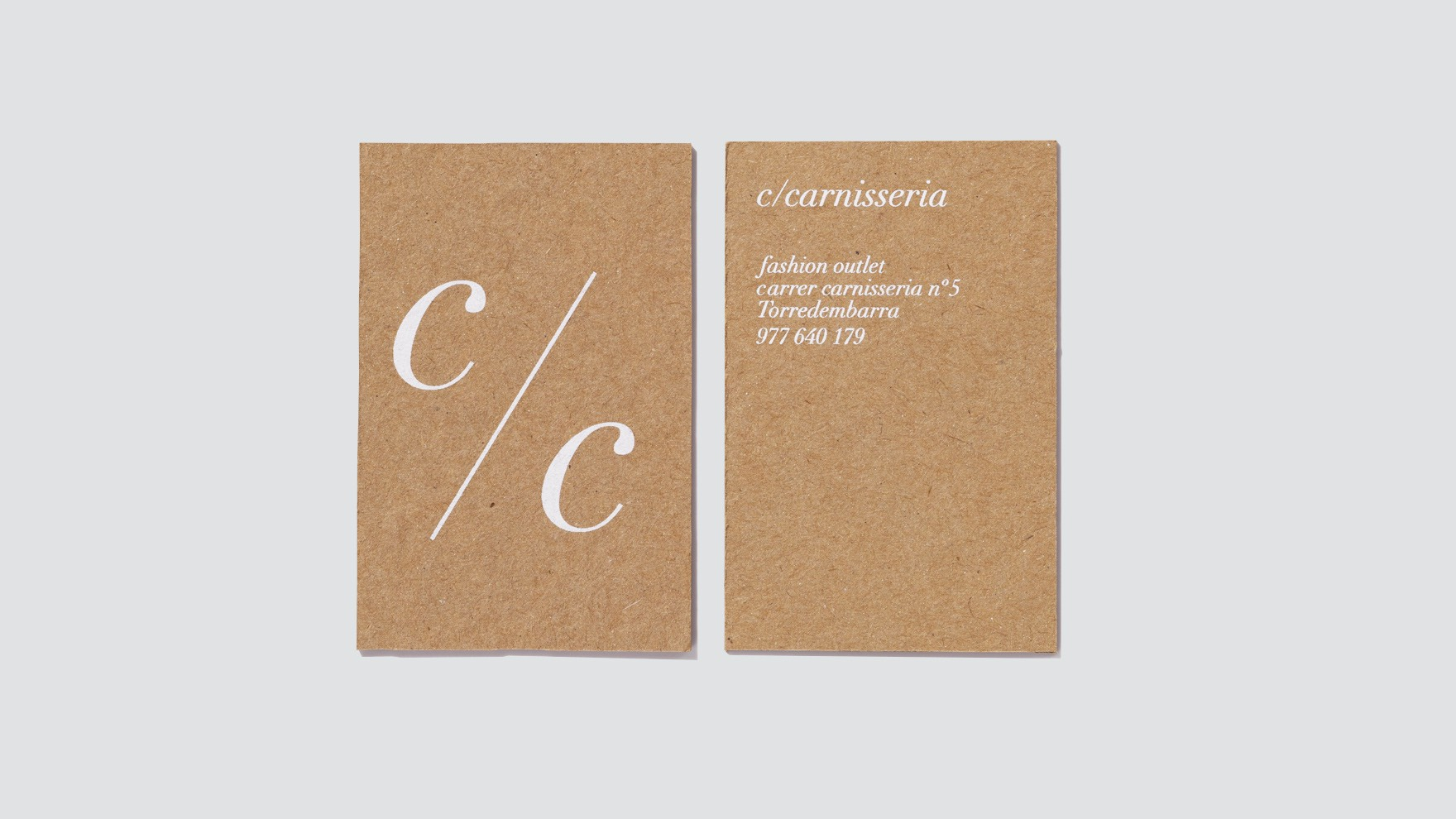 CARRER CARNISSERIA / CORPORATE IDENTITY / BRANDING