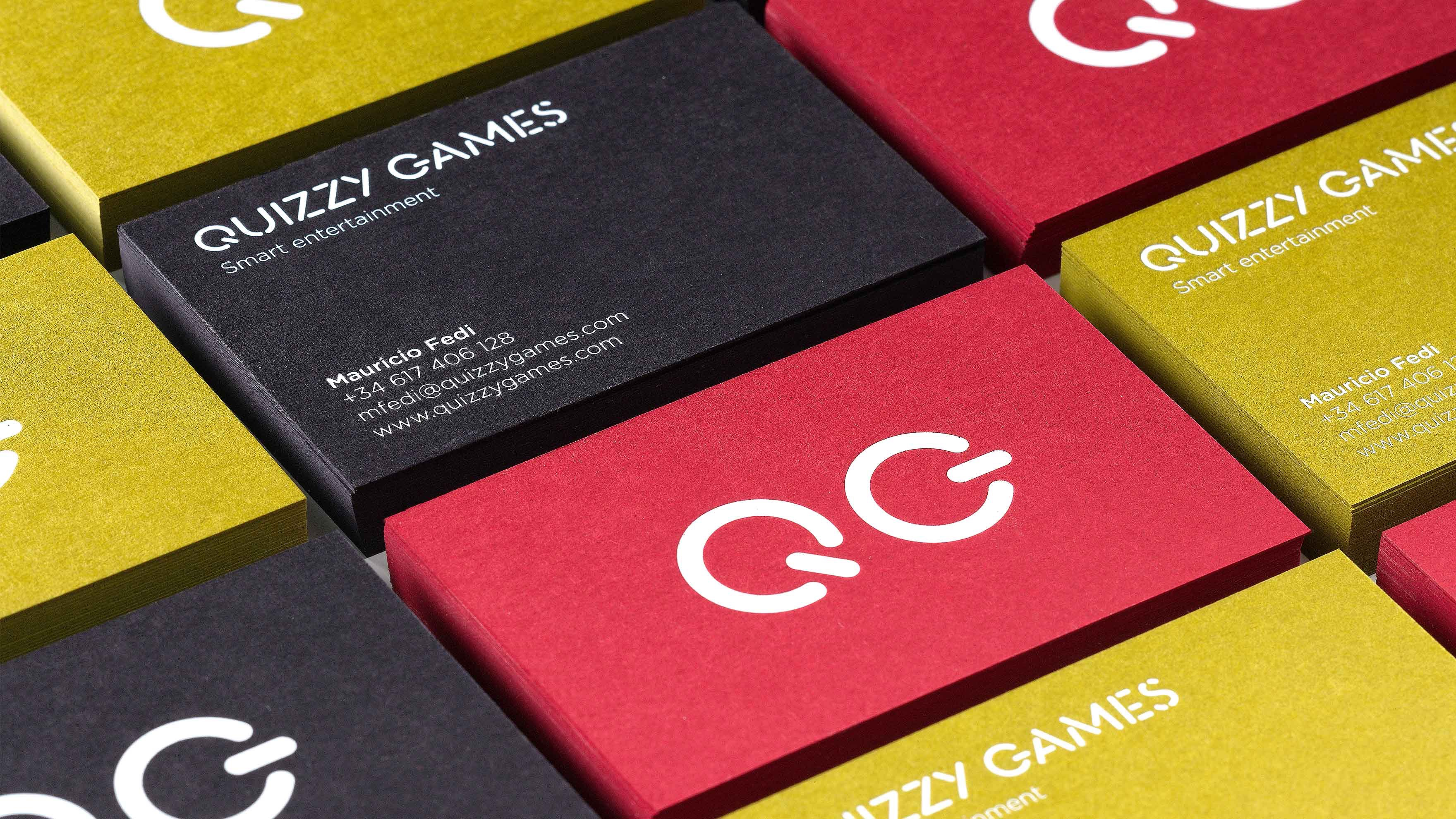 QUIZZY GAMES / CORPORATE IDENTITY / BRANDING