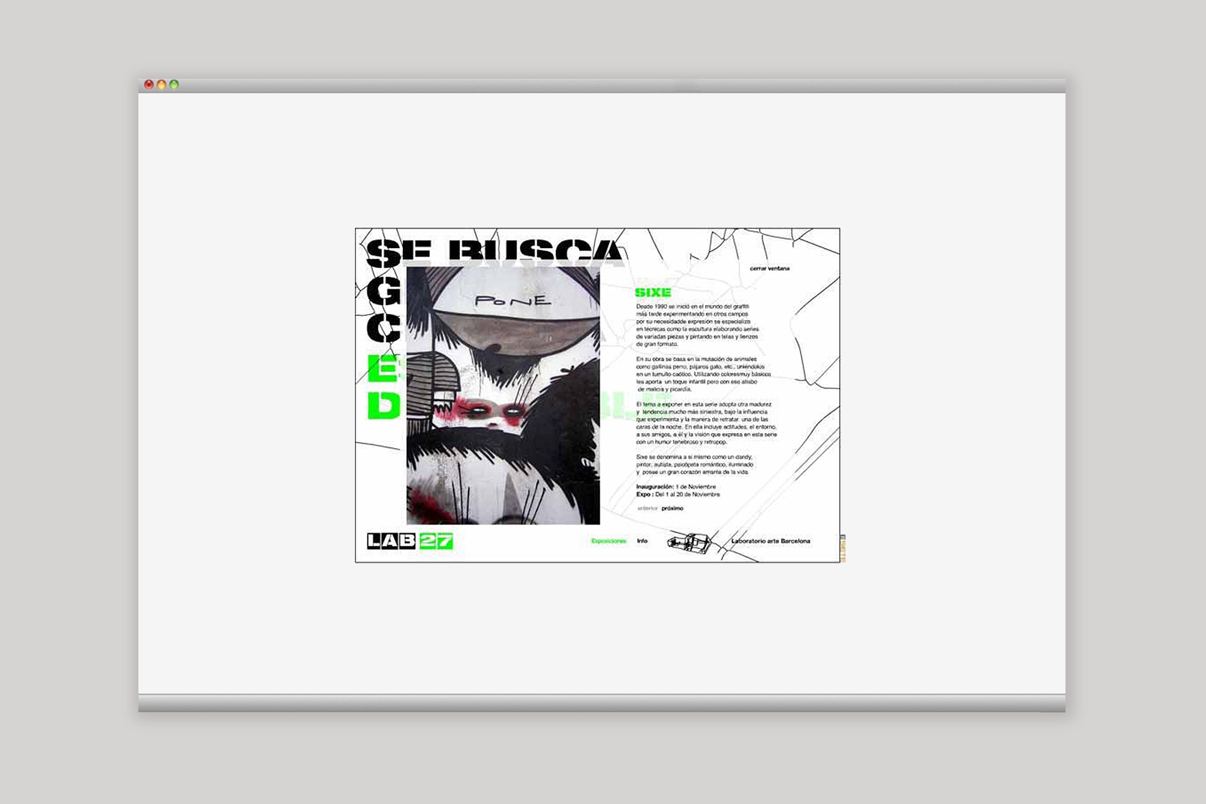 LAB 27 / WEB DESIGN