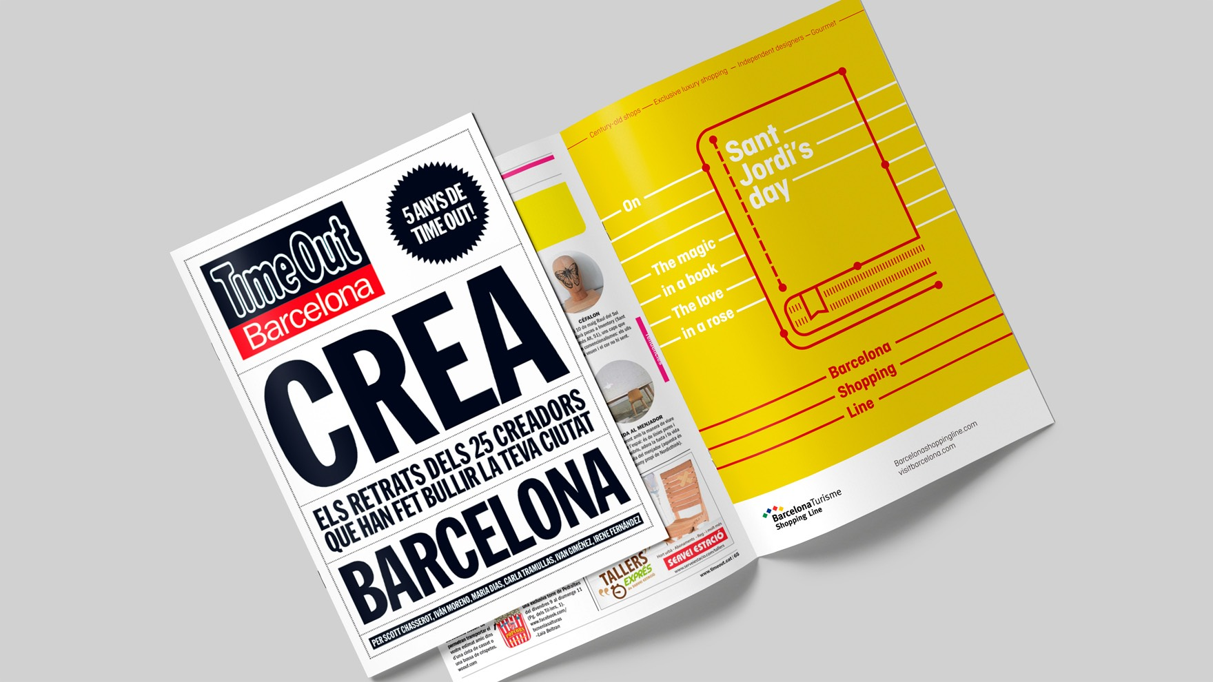 BARCELONA SHOPPING LINE / GRAPHIC DESIGN