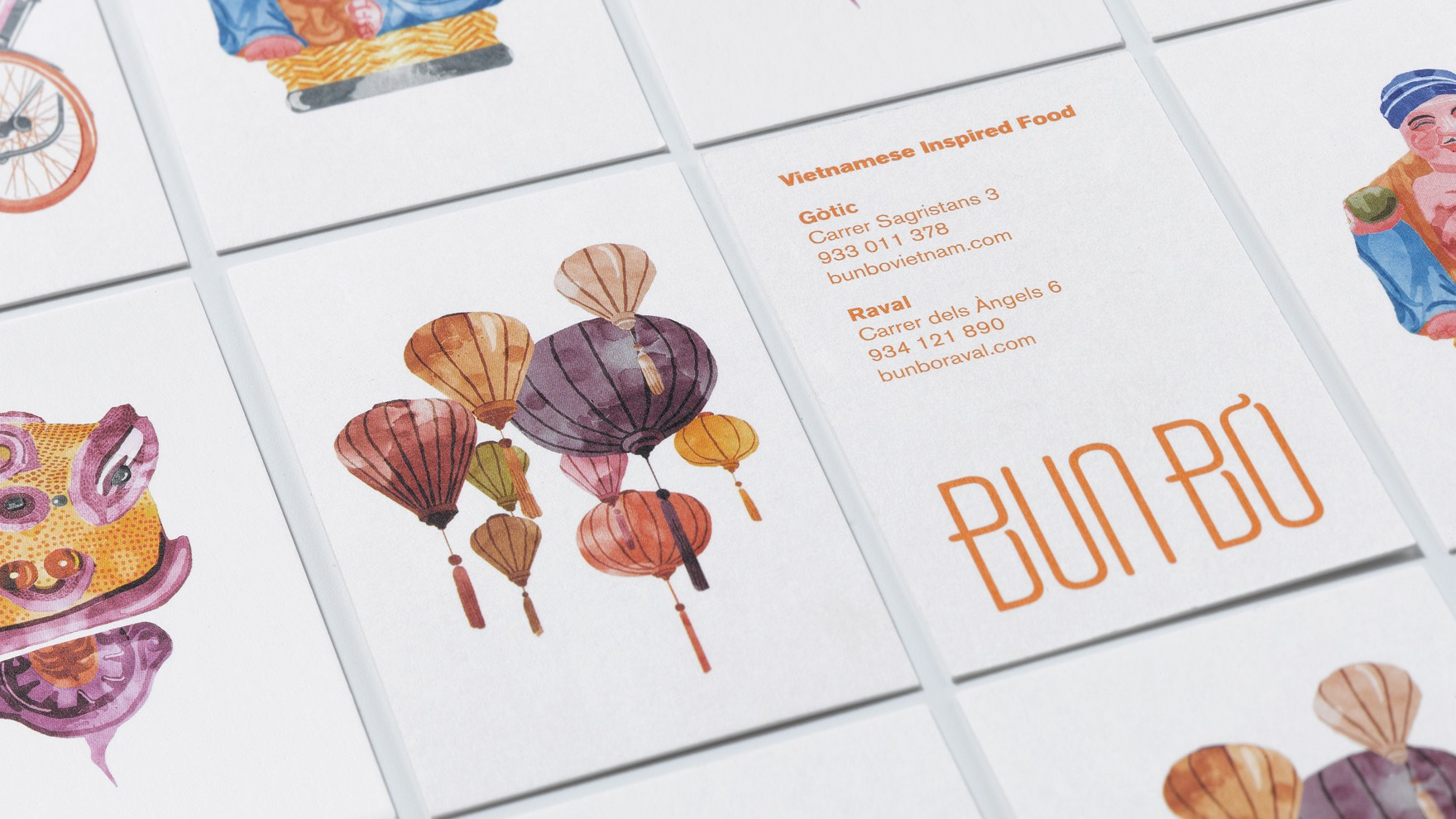 BUN BÒ / CORPORATE IDENTITY / BRANDING