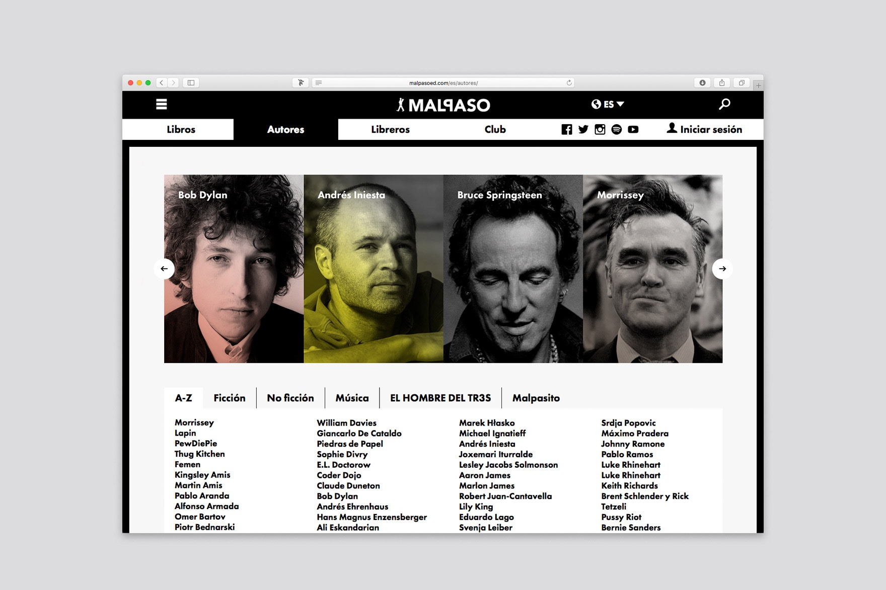 MALPASO / WEB DESIGN