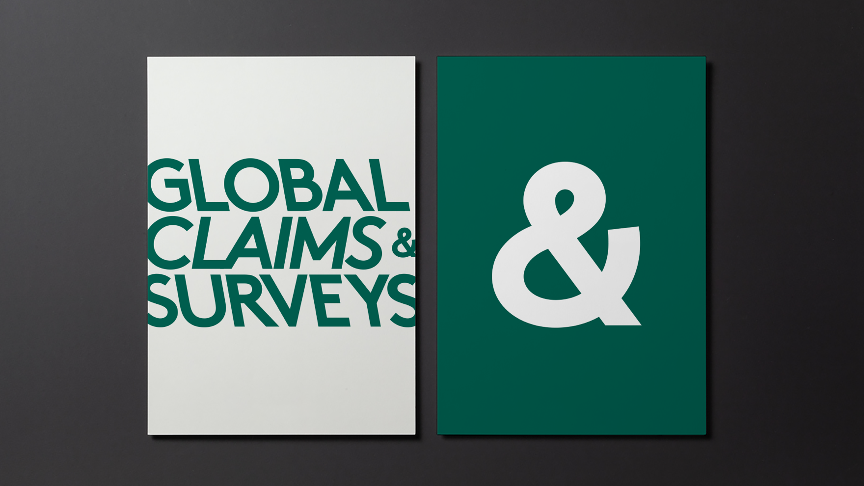 GLOBAL CLAIMS & SURVEYS / IDENTITAT CORPORATIVA / BRANDING
