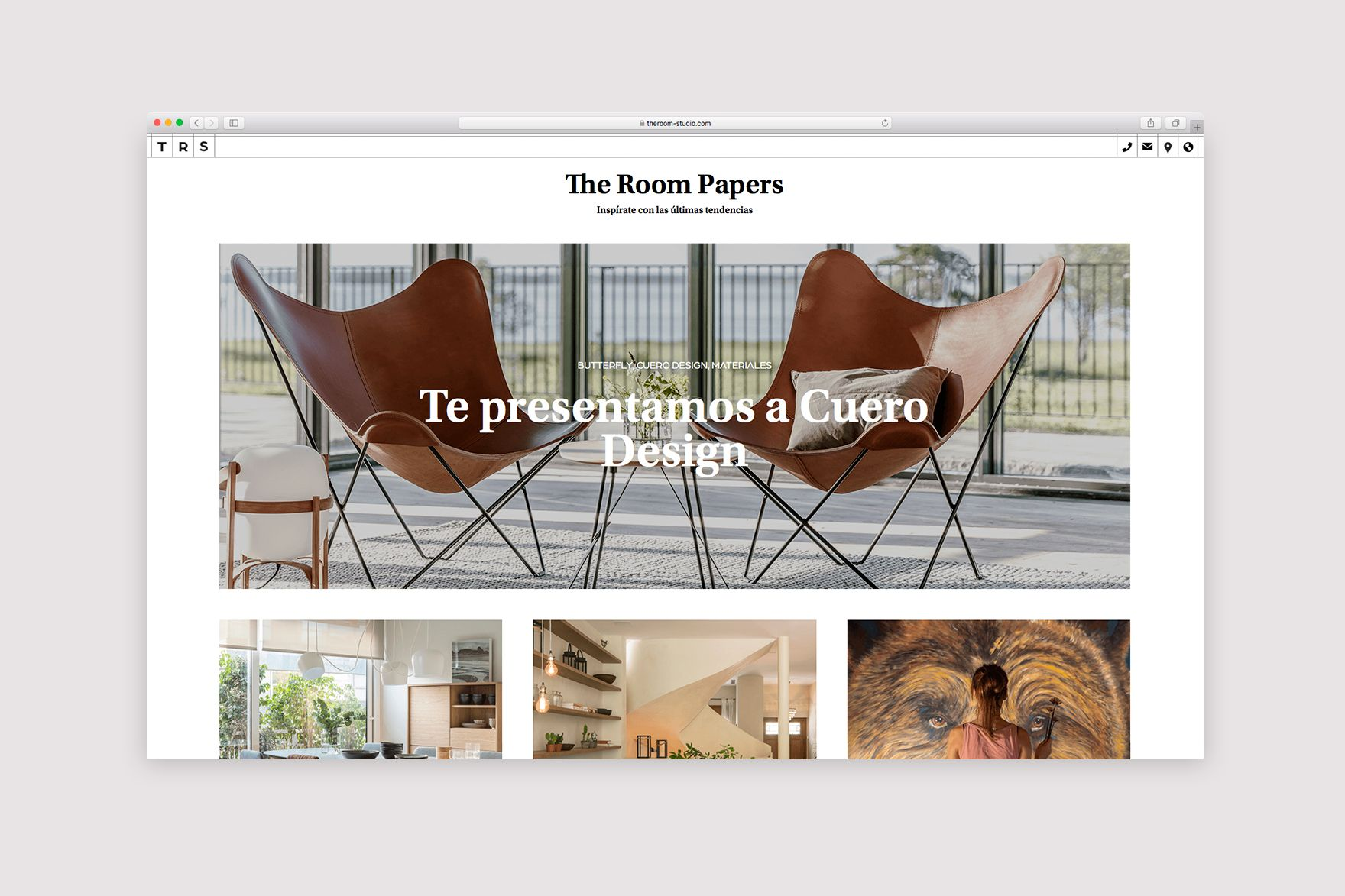 THE ROOM STUDIO / DISEÑO WEB