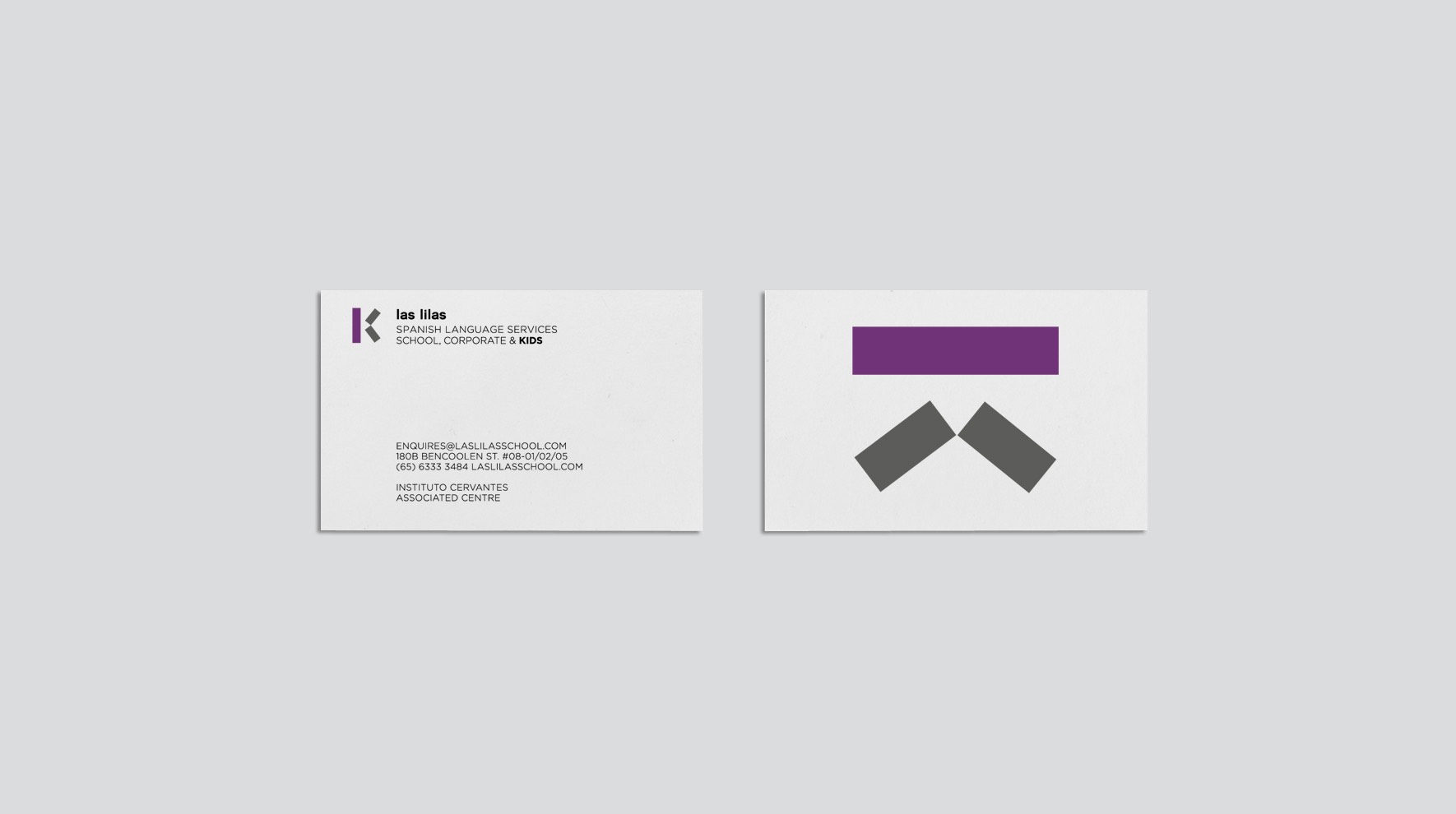 LAS LILAS SCHOOL / CORPORATE IDENTITY / BRANDING