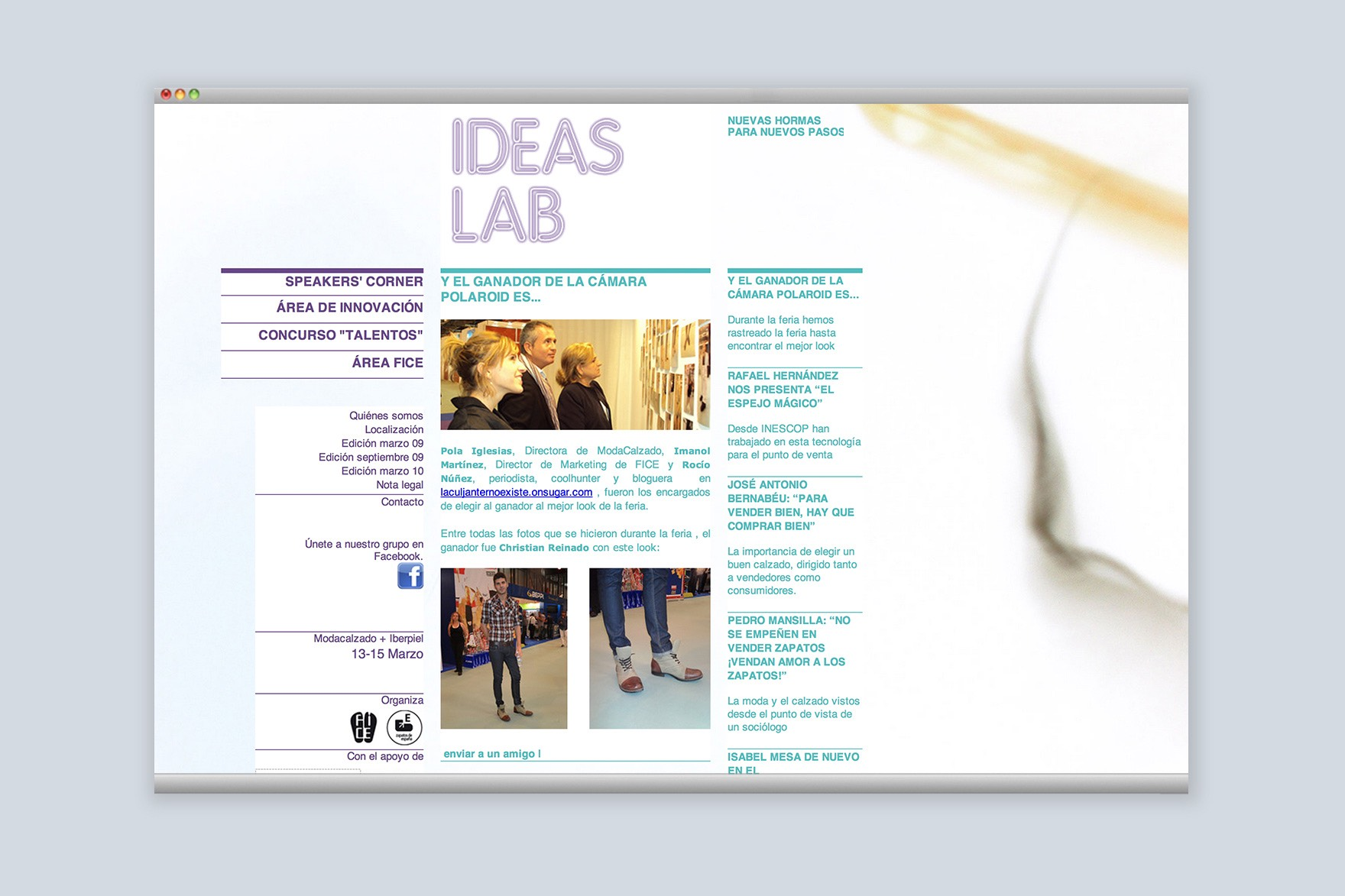 IDEAS LAB / WEB DESIGN