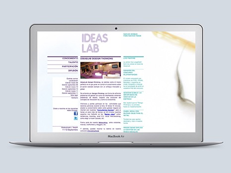 IDEAS LAB / DISEÑO WEB