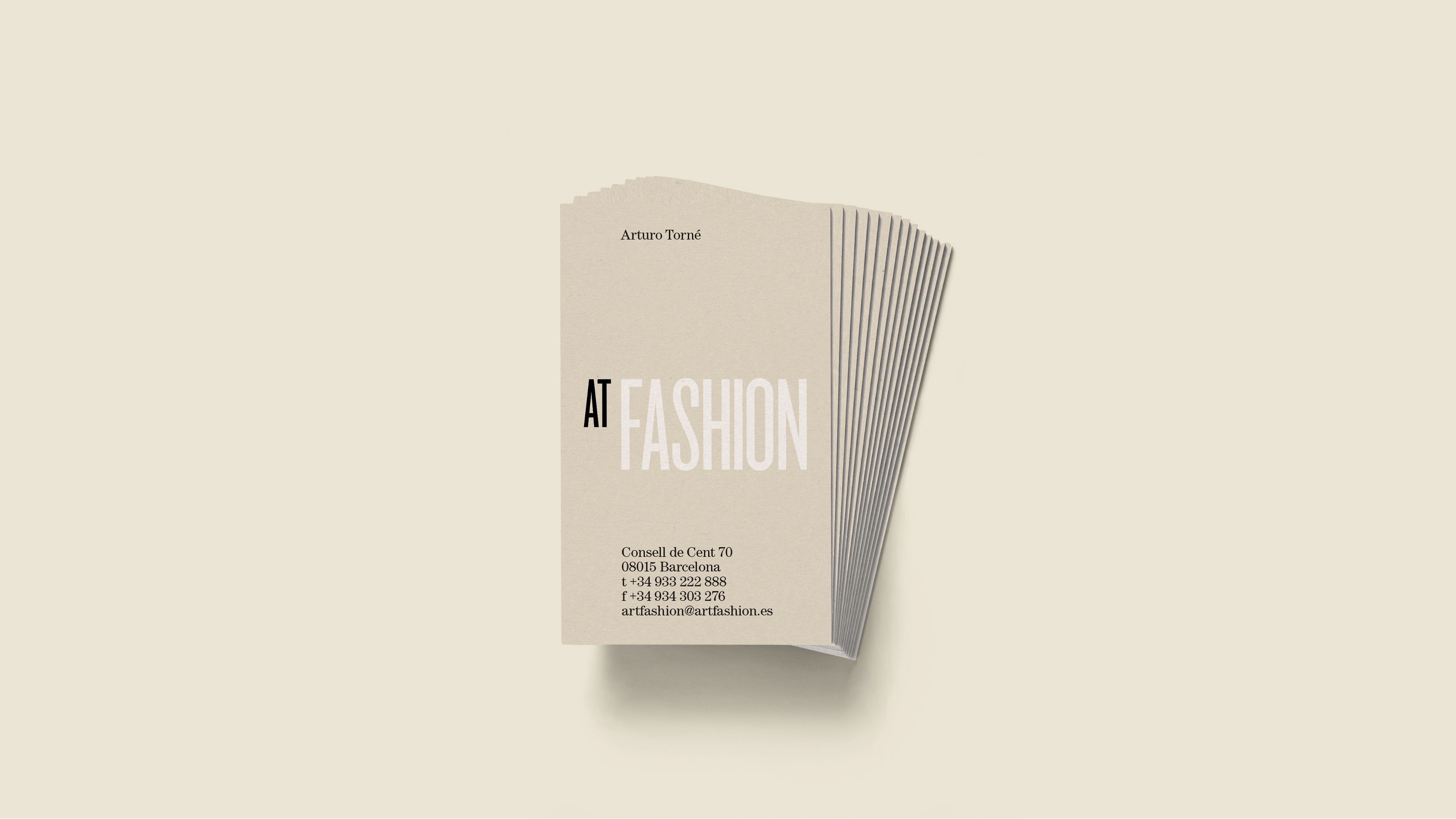 AT FASHION / IDENTITAT CORPORATIVA / BRANDING